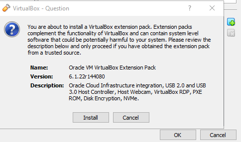 VirtualBox. Click Install. How to use VirtualBox to create virtual machines on your computer. Virtualization